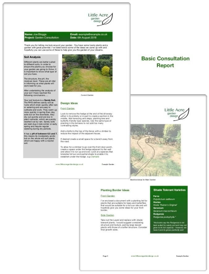 Little Acre Consultation